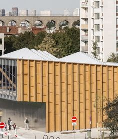 Cachan Covered Market / Croixmariebourdon Architectures