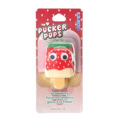 Strawberry Flavoured Pucker Pops