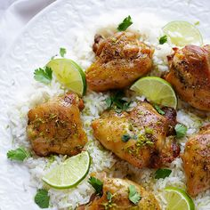 School is back in session...don't stress over dinner! Try this easy lime chicken! #dinner #chicken