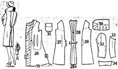 1929 Beyer's Modenblatt coat, from Germany