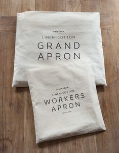 Apron packaging from Sir Madam
