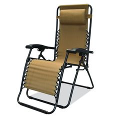 Caravan Sports Infinity Zero Gravity Chair, Beige >>> Check out this great product.