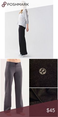 665be75a3d Lululemon Relax Fit Drawstring Pants These pants are a Heathered dark gray  color, I can