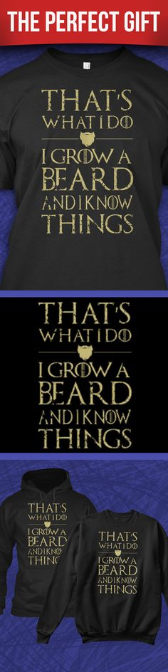 Perfect as a gift for bearded husbands. Buy 2 or more, save on shipping! He will love it.