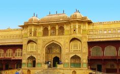 Located high on a hill, Amer Fort was built by Raja Man Singh I. Known for its artistic style of Hindu elements, its large ramparts, series of gates and cobbled paths, the fort overlooks the Maota Lake, at its forefront.  Visit this wonderful fort and stay at Royal Heritage Haveli Jaipur!