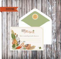 free thanksgiving dinner invitation printables