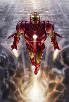 #Amazing #Iron #Man #Fan #Art. (Amazing IRON MAN Concept Art) By: Phil Saunders. ÅWESOMENESS!!!™ ÅÅÅ+
