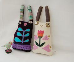 Folk Rabbit Friends | Flickr - Photo Sharing!