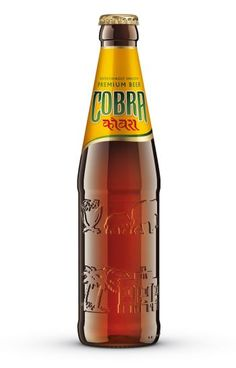 cobra beer . for the bottle rather than the beer.