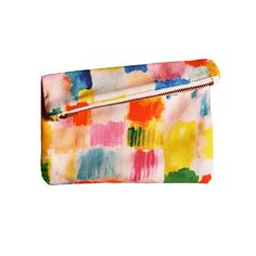 Mini Zipper Clutch Block Party / Kinah Khalidy
