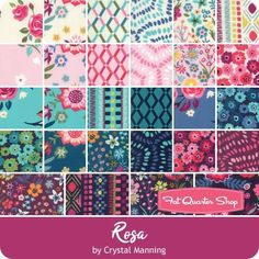 7dc335ad56d119 Rosa Jelly Roll Crystal Manning for Moda Fabrics - Jelly Rolls  amp  2.5