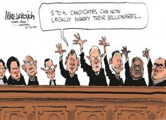 Mike Luckovich: Supreme Court Vote - Mike Luckovich - Truthdig
