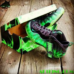 "Custom ""ParaNorman"" Foamposite One aka ""ParaNormalikes"" by ..."