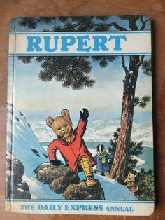 Original 1970 Daily Express RUPERT BEAR ANNUAL - Bestall, Alfred