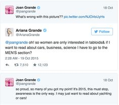 Ariana Grande Makes a Pretty Valid Point About Feminism