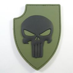 crusader cross shield olive drab green morale infidel seal parche fastener patch