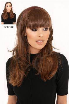 Instant Full Fringe Hair HeadBand
