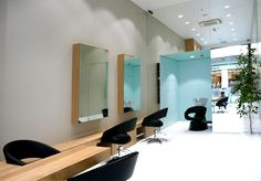 Studio A #Hairdressing #Salon Design by Think Forward studio a hairdressing salon think forward 12