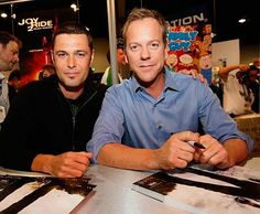 Carlos Bernard and Kiefer Sutherland...tony and jack ---my fave characters---