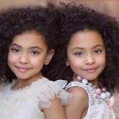 Cutest twin girls #kids