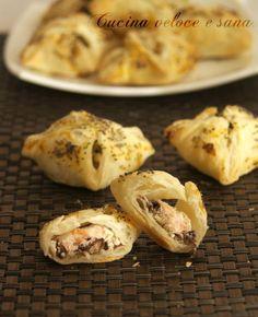 I fagottini al salmone e radicchio sono sfiziosi e velocissimi da preparare.Se cercate un antipasto semplice da preparare questa ricetta è per voi
