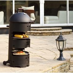 Barbecue design Barbecue Design, Log Burner, Stove, Home Appliances, Deco, Wood, Fire Pits, Grilling, Kitchens