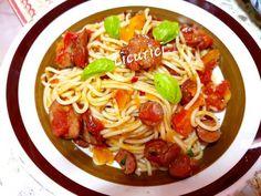 Spaghete țărănești Paste, Ethnic Recipes, Food, Essen, Meals, Yemek, Eten