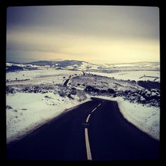 Instagram of Exmoor during the white season.