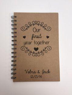 Nuestro primer año junto primer aniversario de por MisterScribbles