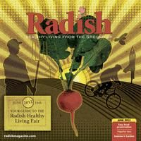 Radish Magazine's Healthy Living Fair in June has the Quad Cities Largest Yoga Class, healthy foods, organics, and more. - Freight House Farmer's Market, Davenport, Iowa