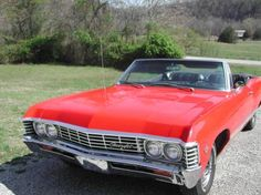 For Sale 1967 Chevy Impala Convertible For Sale