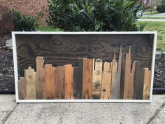 Nashville Skyline by PerfectlyStained on Etsy