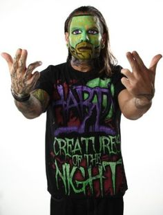 "Amazon.com: TNA Jeff Hardy ""Creatures Of The Night"": Clothing; ShopTNA; Charismatic Enigma; TNA Wrestling; IMPACT Wrestling; wrestling legend; mount up; gift ideas for men; gift ideas for boys; men's fashion; clothing, wrestling fan"