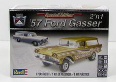 Revell 85-4396 1957 Ford Gasser 1/25 New Classic Car Plastic Model Kit - Shore Line Hobby  - 1