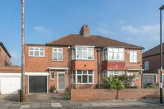 4 bedroom semi-detached house for sale in Northfield Road, Gosforth, Newcastle upon Tyne - Rightmove 1930s House Extension, House Extension Plans, Semi Detached, Detached House, House Extensions, Front Elevation, Newcastle, Property For Sale, Exterior