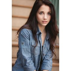 Tumblr Girls With Curly Brown Hair And Blue Eyes fashionplaceface.com ❤ liked on Polyvore featuring hair, people and girls