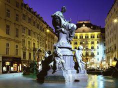 Donner Fountain, Vienna