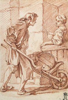 The Athenaeum - Vinegar Seller (François Boucher - )