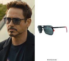 7d86b07b31 Tony Stark (Robert Downey Jr.) Glasses in Avengers  Infinity War ...