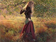 Картины о тишине и внутреннем созерцании Danielle Richard - Ярмарка Мастеров - ручная работа, handmade
