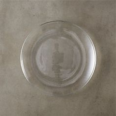 View larger image of bari glass salad plate