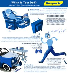 A Father's Day Gift Buying Guide From Davpack - Davpack Packaging Materials Gift Packaging, Fathers Day Gifts, Infographics, Dads, Stuff To Buy, Infographic, Fathers, Gift Wrapping, Father's Day Gifts