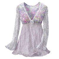 Lavender Fantasy Top