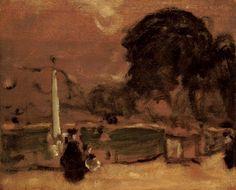 James Wilson Morrice, In the Park