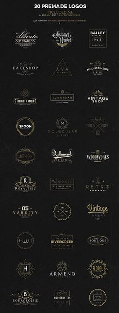 DIY Logo Design Kits : logo creation