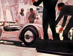 Syd Mead concept cars