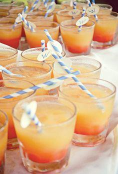 Recipe for a blood orange sangria wedding signature cocktail | Brides.com