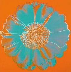 Andy Warhol Flower for Tacoma Dome 1982 - still life quick heart