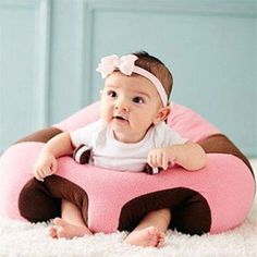 Cheap sofa baby, Buy Quality baby sofa chair directly from China baby sofa Suppliers: Baby Support Seat Sofa Plush Soft Animal Shaped Baby Learning To Sit Chair Keep Sitting Posture Comfortable For Years Baby The Babys, Baby Sofa Chair, Soft Chair, Chair Pads, Chair Pillow, Chair Cushions, Diy Auto, Car Seat Pillow, Baby Lernen