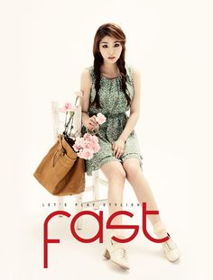 Ailee for Fast magazine